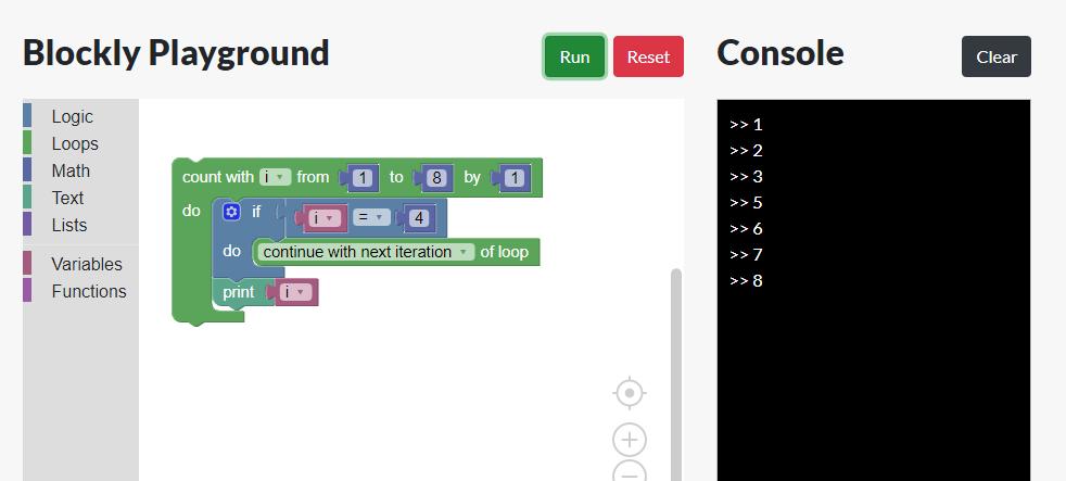 Blockly Editor Demo