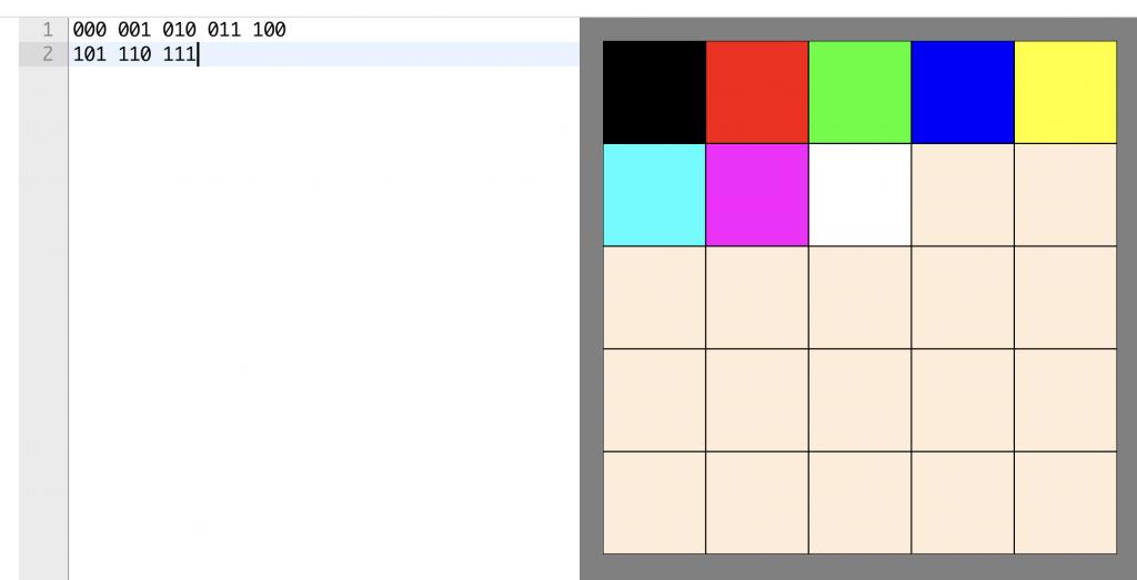 8-bit colour depth image